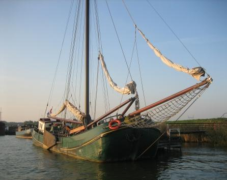 Authentic ship Vrouwe Johanna
